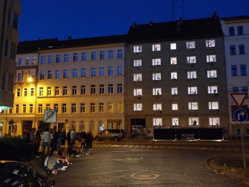 Georg-Schumann-Straße 6, Installation Philipp Kirschner, © DJH / Mako Mizobuchi
