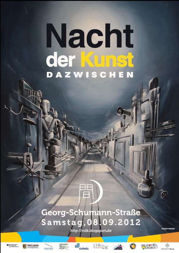 Plakat zur Nacht der Kunst 2012