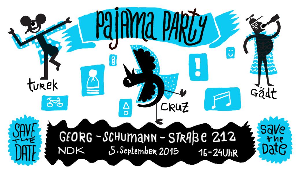 Einladung zur Pajama Party