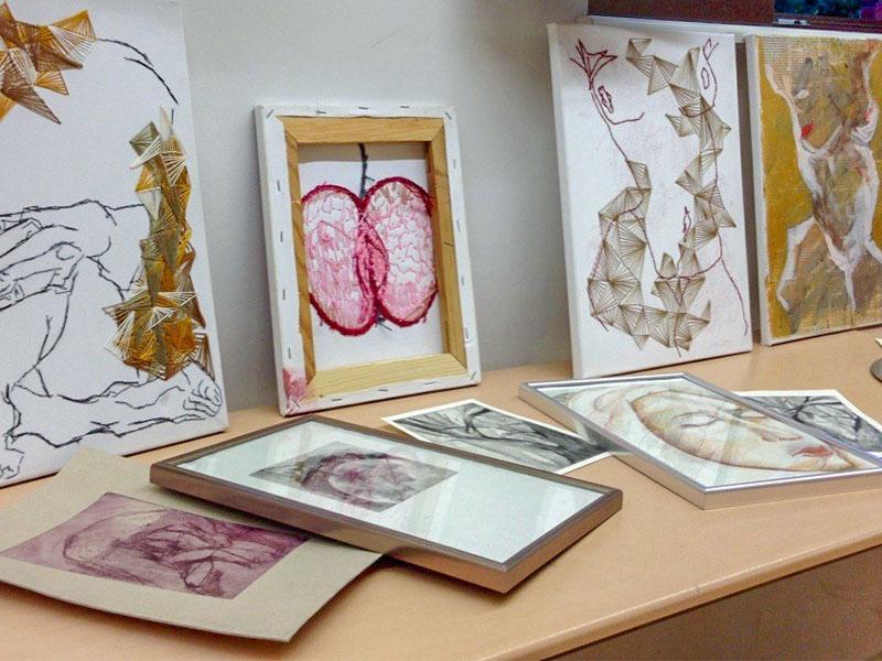 Zahlreiche und vielfältige Ausstellungen machten das Gymnasium Werner-Heisenberg-Schule zum Publikumsmagneten.
