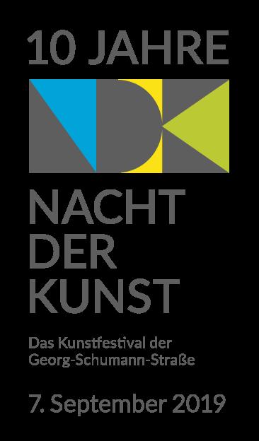 Banner mit Logo und Datum 2019