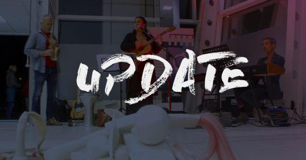"""Foto der NdK 2019 mit einem Overlay """"Update"""""""